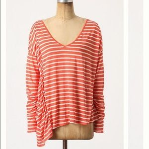Anthropologie Fred and Sibel stripe top